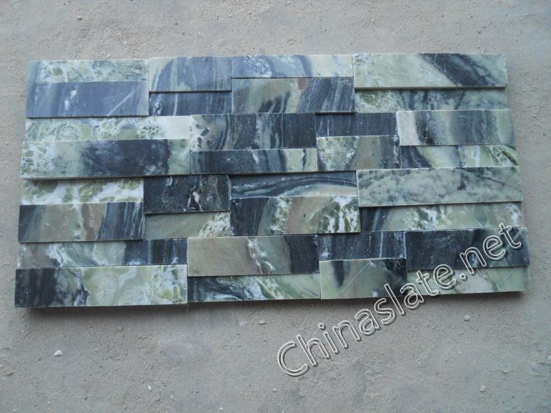 Michael Thronson Masonry Thin Stone Veneer Projects And: Green Cultured Stone Slate Green Marble Ledge Wall Stone