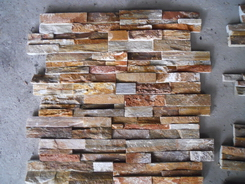 golden california color owens ledge wall stone