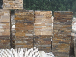 Manufacturer Ledge Stone Pillar Cultured Stone Column