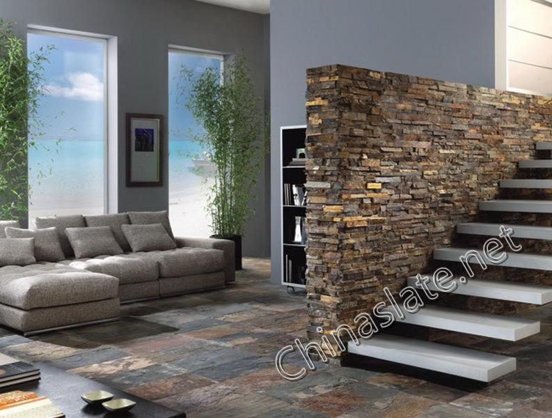 High Quality ... Rusty Slate Wall And Floor