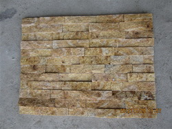 golden quartzite wall stone veneer