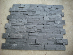 black slate ledge stone