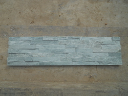 green ledge wall cladding stone panel