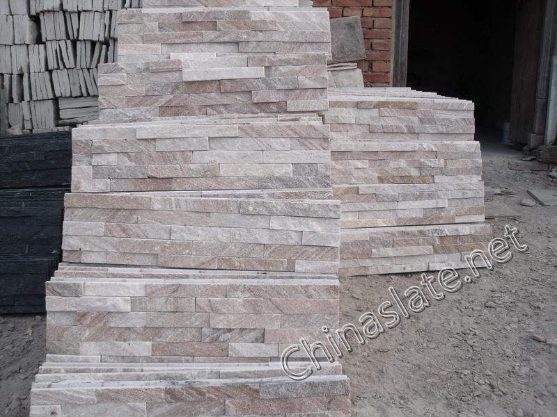 Red Cultured Sandstone Veneer Pink Sandstone Ledgestone